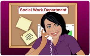 social worker. job. skill. employme