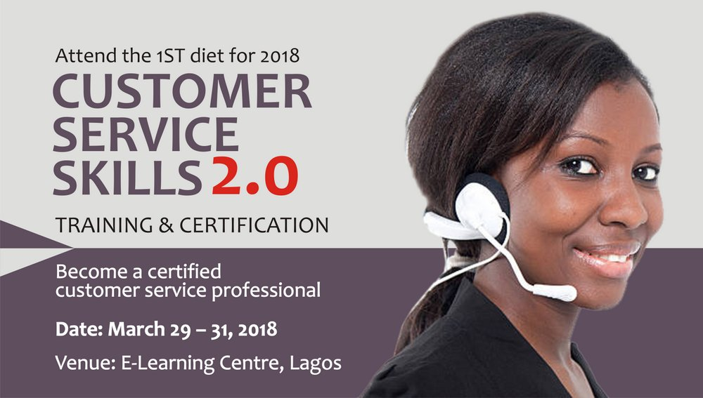 customer service skills training & certification